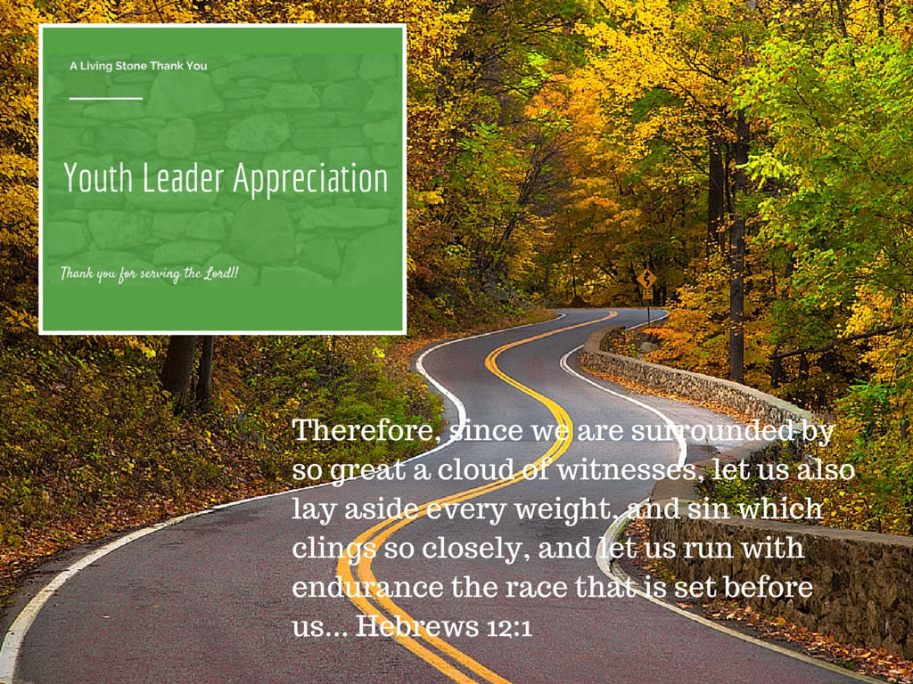 Youth Leader Appreciation